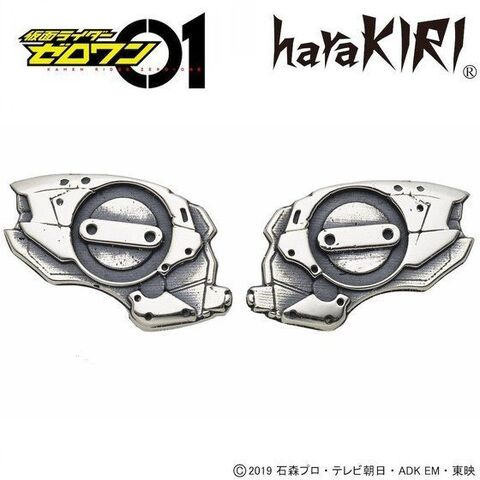 「仮面ライダーゼロワン」より、ヒューマギアモジュールをデザインした、silver925製イヤリング・ピアスが登場!!