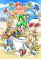 Switch/PS4/Steam向け「ワンダーボーイ アーシャ・イン・モンスターワールド」が発売決定!