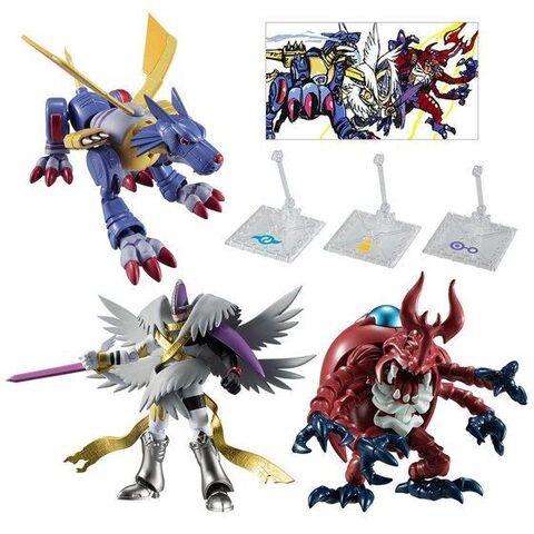 メタルガルルモン、ホーリーエンジェモン、アトラーカブテリモンの3体が揃う、プレミアムバンダイ限定の特別セットが登場!