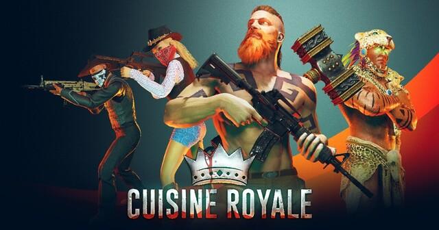 キッチン用品を装備して戦うバトルロイヤルゲーム「Cuisine Royale」のPC版が配信開始!