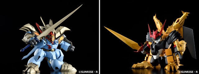 OVA「真魔神英雄伝ワタル」より、「影輝鋼衣龍王丸」と「鋼衣邪虎丸」のプラスチックモデルが登場!