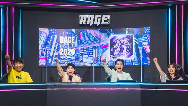 eスポーツのアジア大会「RAGE ASIA 2020」に霜降り明星も大興奮、DAY1オフィシャルレポート! 1日目「荒野行動-Knives Out-」で白熱の展開に!