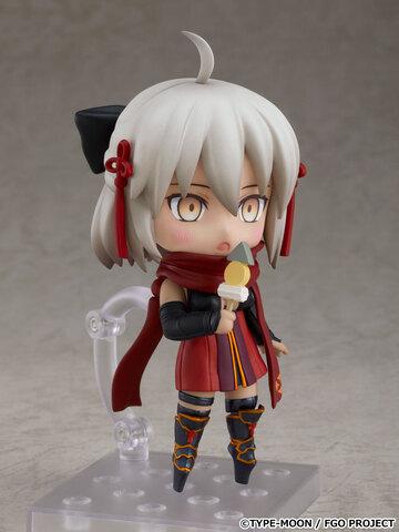 「Fate/Grand Order」、アルターエゴのサーヴァント「沖田総司〔オルタ〕」がねんどろいどで登場! 大好物の「おでん(ちくわぶ付き)」も付属!!