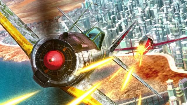 「大空の風」になれる映像体験! 9月11日公開「荒野のコトブキ飛行隊 完全版」MX4D先行体験&プログラマーインタビュー!