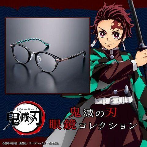 「鬼滅の刃」より、炭治郎、禰豆子、善逸、伊之助、義勇、しのぶの6人をイメージした眼鏡コレクションが一挙登場!