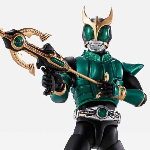 「仮面ライダークウガ」から、緑のクウガこと、仮面ライダークウガ ペガサスフォームが真骨彫製法に登場!