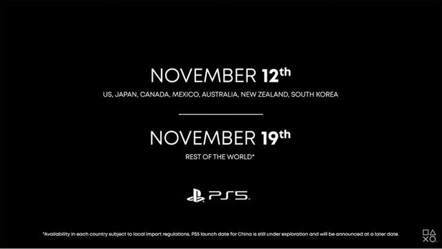プレイステーション5、11月12日発売決定! 価格は49,980円! デジタル・エディションは39,980円(税別)