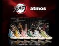 スニーカーセレクトショップ「atmos」から、TVアニメ「鬼滅の刃」のデザインスニーカーが登場! 炭治郎、禰豆子、善逸、伊之助、義勇、しのぶの全6種!