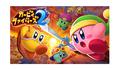 Switch「カービィファイターズ2」本日配信開始! 最大4人でコピー能力ファイト!