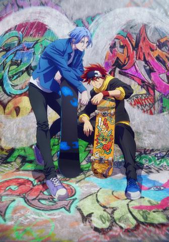 内海紘子×ボンズの最強タッグによる、青春オリジナルTVアニメ「SK∞ エスケーエイト」、2021年1月より放送開始!!
