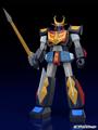 アニメ「宇宙戦士バルディオス」より、主役ロボ「バルディオス」が各関節可動&3機合体可能なプラモになって登場!