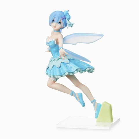 【プレゼント】「Re:ゼロから始める異世界生活」から、かわいい妖精姿の「レム」のスーパープレミアムフィギュアがセガプライズに登場!