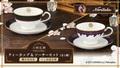 「刀剣乱舞-ONLINE-」と高級陶磁器メーカー ノリタケがコラボ! 金彩が映える「ティーカップ&ソーサーセット」登場