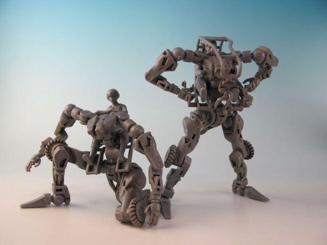 超絶リアルな搭乗型ロボットを、自分流でカスタマイズしよう!「MODEROID 1/35 汎用作業用エグゾフレーム(グレー)」を作ってみた! 【泰勇気の週末プラモ第23回】