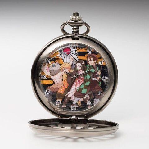 TVアニメ「鬼滅の刃」、炭治郎が振るう日輪刀の鍔をモチーフにした懐中時計、二次予約受付がスタート!