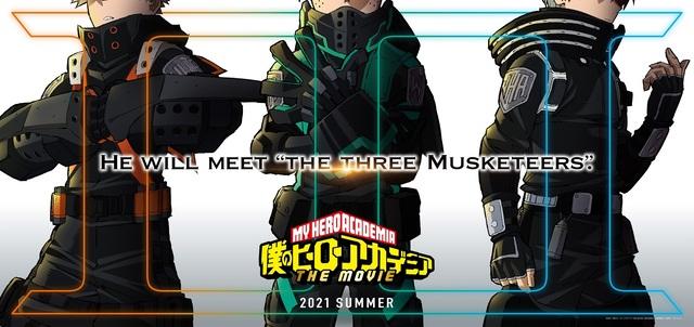 「僕のヒーローアカデミア」劇場版第3弾が公開決定! 謎の新コスチュームで描かれたビジュアルを公開!