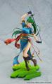 「ファイアーエムブレム 烈火の剣」の主人公のひとり、リンが1/7スケールフィギュアで登場! 草原の風を受けて軽やかに舞い踊る姿を表現