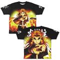 「鬼滅の刃」より煉獄杏寿郎グラフィックTシャツと「水の呼吸」ドライTシャツが登場! 現在予約を受付中!