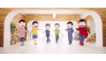 """TVアニメ「おそ松さん」第3期ED曲のMVダンスVer. が公開! 6つ子が""""トト恋ダンス""""で全力アピール!?"""