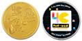 「パックマン40周年記念コイン」の予約販売がスタート! 金貨・銀貨・カラー銀貨の3種!