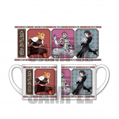 「鬼滅の刃」よりマグカップ(杏寿郎・魘夢・猗窩座)が登場! 2月発売予定、現在予約受付中!