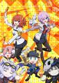 「Fate/Grand Order」完全新作ショートアニメ「Fate/Grand Carnival」、OVAが発売決定! 1st Seasonは2021年6月2日(水)に発売!