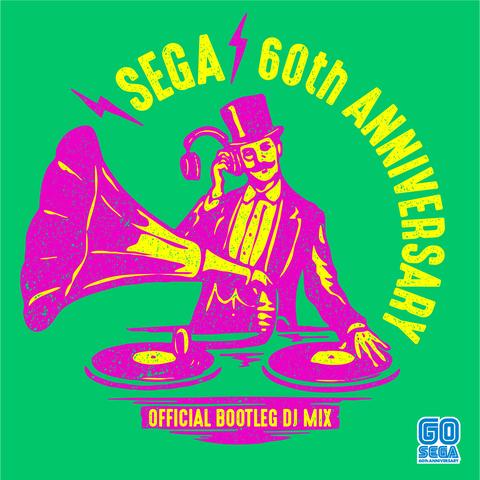 「セガ設立60周年プロジェクト」 全60曲を収録したノンストップDJミックスアルバムが3月24日発売決定!