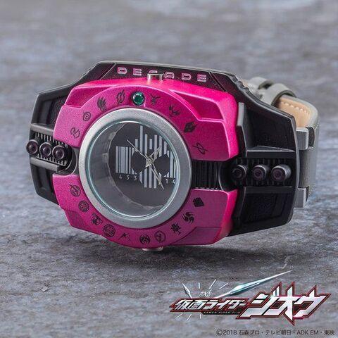 「仮面ライダージオウ」に登場する「ネオディケイドライバー」型の腕時計が登場!