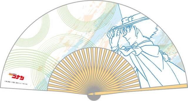 「名探偵コナン」の扇子(コナン/キッド/安室/灰原/赤井/平次)が再販決定! 2月4日まで予約受付中