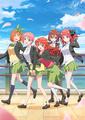 TVアニメ「五等分の花嫁∬」のOP&ED主題歌CDのジャケット公開! キービジュアルも二乃の髪型がショートVer.に!