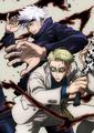 TVアニメ「呪術廻戦」、キャラクターデザイン・平松禎史描き下ろしの五条&七海が描かれたBD&DVD第3巻、ジャケット公開!
