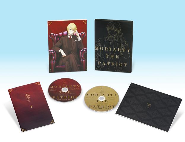 TVアニメ「憂国のモリアーティ」、Blu-ray&DVD第1巻が1月27日(水)発売! 特装限定版の詳細を公開