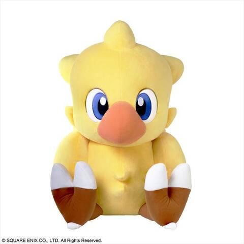 「ファイナルファンタジー」シリーズの人気キャラクター「チョコボ」が超ジャンボサイズのぬいぐるみに! 本日1月26日予約販売開始!