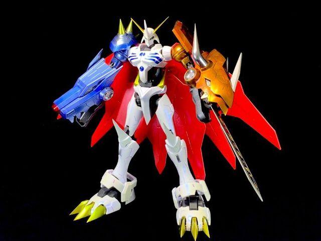 人気デジモンのプラキットを製作! 「Figure-rise Standard Amplifiedオメガモン」を作ってみよう!!【YU-GOのキャラクターモデリングLABO 第4回】