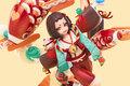 「陰陽師本格幻想RPG」から、「座敷童子 福來運至」の完成品フィギュアが予約受付開始! 予約特典は「金運お守り」!