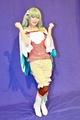 立花はる(ふとんちゃん)がスマホゲーム「リゼロス」オリキャラ・シオンのコスプレを披露! インタビュー&グラビア特集!