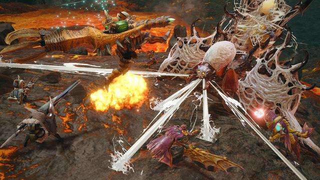 Switch「モンスターハンターライズ」、妃蜘蛛「ヤツカダキ」など7頭のモンスターと2つのフィールドを公開!