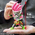平成仮面ライダーシリーズ18作目「仮面ライダーエグゼイド」より、「仮面ライダーエグゼイド アクションゲーマー レベル2」が「デフォリアル」に登場!