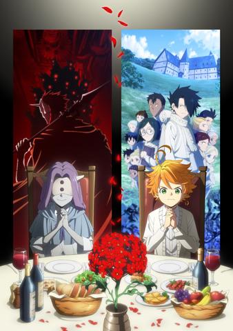 「約束のネバーランド」Season 2、Blu-ray&DVD第1巻ジャケットとアニメMV公開!