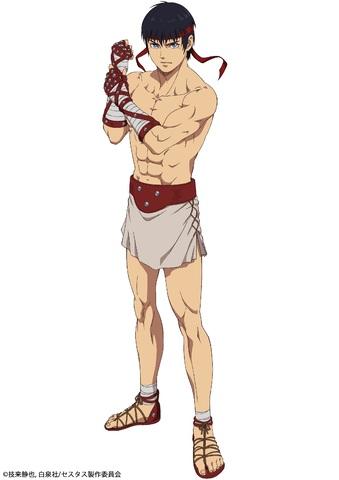 2021年4月放送開始のTVアニメ「セスタス -The Roman Fighter-」、第1弾ビジュアル&セスタス役・峯田大夢コメント公開!