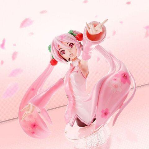 歌をつむぐ多彩なディスプレイスタイル! 春を彩る「Figure-riseBust 桜ミク」が再販決定!