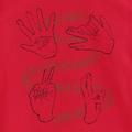 「呪術廻戦」の「ハンドグラフィックTシャツ 黒/赤」が3月14日まで予約受付中!