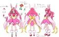 3月20日(土)公開の「映画ヒーリングっど♥プリキュア」より、変身フォームの設定画が公開!