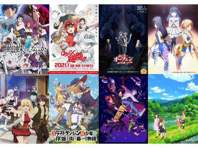 アイドルアニメ激戦シーズンを制したのは、あのアニメ!「2021冬アニメEDテーマ人気投票」結果発表!
