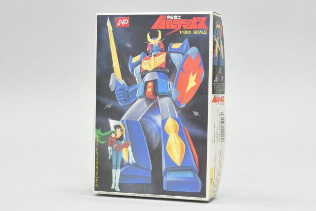 70年代っぽい合体ロボット「宇宙戦士バルディオス」を組み立てて、1981年暮のバンダイ模型の技術力を学ぼうぜ!【80年代B級アニメプラモ博物誌】第9回