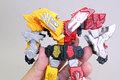 スーパー戦隊45作目「機界戦隊ゼンカイジャー」の合体ロボが食玩プラモに登場! アキバ総研編集部が「ミニプラ 全界合体シリーズ01 ゼンカイオー ジュラガオーンセット」を作ってみた!