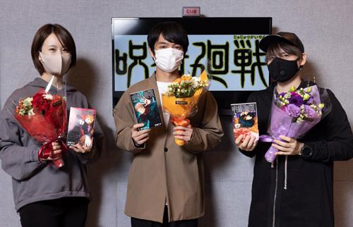 本日放送! TVアニメ「呪術廻戦」最終回に向けて榎木淳弥らのオフィシャルインタビューが到着!
