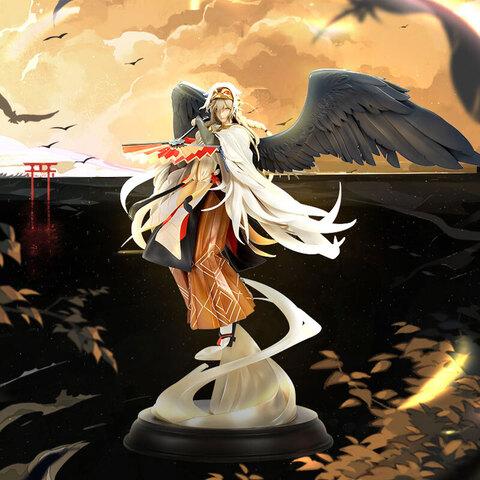 「陰陽師本格幻想RPG」から、「大天狗 雲間飛羽」の完成品フィギュアが予約受付開始! 予約特典は「特製ブローチBOX」!