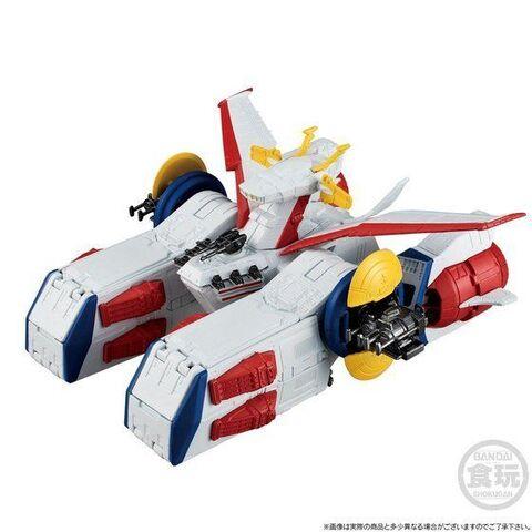 GUNDAM CONVERGE 新シリーズ「宇宙戦艦:Space Battleship」登場! 第1弾はペガサス級強襲揚陸艦2番艦 ホワイトベース!!