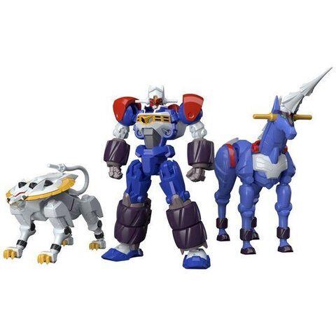 「スーパーミニプラ GEAR戦士電童」にGEAR戦士電童とユニコーンドリル、レオサークルがセットとなったデータウェポンセットが登場!
